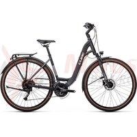 Bicicleta Cube Touring EXC Easy Entry Iridium/White 2021
