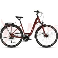 Bicicleta Cube Touring EXC Easy Entry Red/Grey 2020