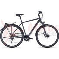 Bicicleta Cube Touring EXC Iridium/Silver 2020
