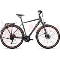 Bicicleta Cube Touring EXC Iridium/White 2021