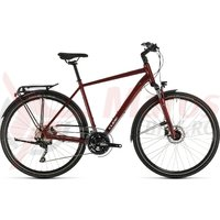 Bicicleta Cube Touring EXC Red/Grey 2020