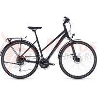 Bicicleta Cube Touring EXC Trapeze black/grey 2018