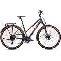 Bicicleta Cube Touring EXC Trapeze Iridium/White 2021