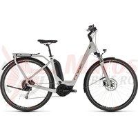 Bicicleta Cube Touring Hybrid 400 Easy Entry Grey/Orange 2019