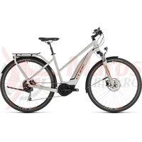 Bicicleta Cube Touring Hybrid 400 Trapeze Grey/Orange 2019