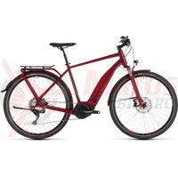 Bicicleta Cube Touring Hybrid EXC 500 Darkred/Red 2019