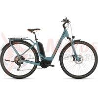 Bicicleta Cube Touring Hybrid EXC 500 Easy Entry blue/orange 2020