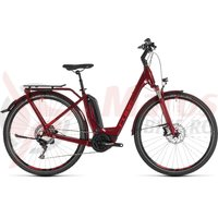 Bicicleta Cube Touring Hybrid EXC 500 Easy Entry Darkred/Red 2019