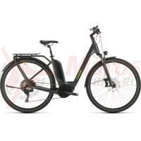 Bicicleta Cube Touring Hybrid EXC 500 Easy Entry iridium/green 2020