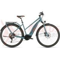 Bicicleta Cube Touring Hybrid EXC 500 Trapeze blue/orange 2020