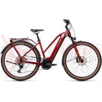 Bicicleta Cube Touring Hybrid EXC 500 Trapeze Red/Grey 2021