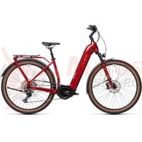 Bicicleta Cube Touring Hybrid EXC 625 Easy Entry Red/Grey 2021