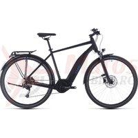 Bicicleta Cube Touring Hybrid One 400 Black/Blue 2020