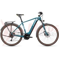 Bicicleta Cube Touring Hybrid One 400 Blue/Green 2021