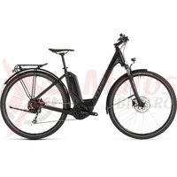 Bicicleta Cube Touring Hybrid One 400 Easy Entry Black/Blue 2019