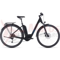 Bicicleta Cube Touring Hybrid One 400 Easy Entry Black/Blue 2020
