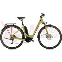 Bicicleta Cube Touring Hybrid One 400 Easy Entry Green/White 2020