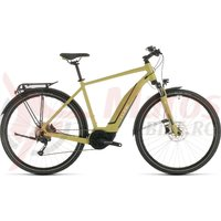 Bicicleta Cube Touring Hybrid One 400 Green White 2020
