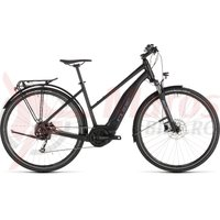 Bicicleta Cube Touring Hybrid One 400 Trapeze Black/Blue 2019