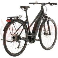 Bicicleta Cube Touring Hybrid One 400 Trapeze Black/Blue 2020