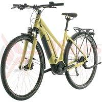 Bicicleta Cube Touring Hybrid One 400 Trapeze Green/White 2020