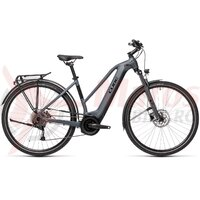 Bicicleta Cube Touring Hybrid One 400 Trapeze Grey/Black 2021