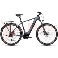 Bicicleta Cube Touring Hybrid One 500 Grey/Black 2021