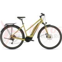 Bicicleta Cube Touring Hybrid One 500 Trapeze Green/White 2020