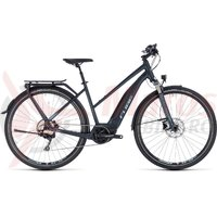 Bicicleta Cube Touring Hybrid Pro 400 Trapeze darknavy/blue 2018