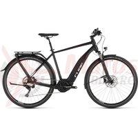 Bicicleta Cube Touring Hybrid PRO 500 Black/White 2019