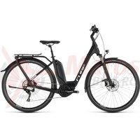 Bicicleta Cube Touring Hybrid Pro 500 Easy Entry Black/White 2019