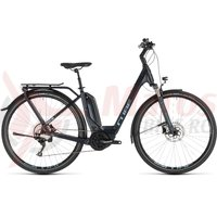 Bicicleta Cube Touring Hybrid PRO 500 Easy Entry Darknavy/Blue 2019