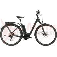 Bicicleta Cube Touring Hybrid Pro 500 easy entry iridium/black 2020