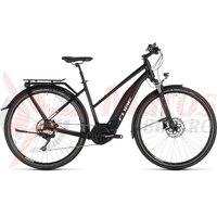 Bicicleta Cube Touring Hybrid PRO 500 Trapeze Black/White 2019