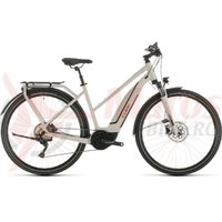 Bicicleta Cube Touring Hybrid Pro 500 trapeze grey/red 2020