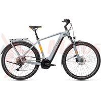 Bicicleta Cube Touring Hybrid Pro 625 Grey/Orange 2021