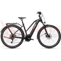 Bicicleta Cube Touring Hybrid Pro 625 Trapeze Black/White 2021