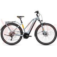 Bicicleta Cube Touring Hybrid Pro 625 Trapeze Grey/Orange 2021