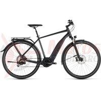 Bicicleta Cube Touring Hybrid SL 500 Iridium/Red 2019