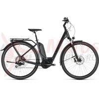 Bicicleta Cube Touring Hybrid SL 500 Kiox Easy Entry Iridium/Red 2019