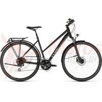Bicicleta Cube Touring One Trapeze Black/Grey 2019