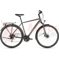 Bicicleta Cube Touring Pro Brown/Silver 2019