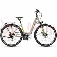 Bicicleta Cube Touring Pro Easy Entry Grey/Green 28' 2021