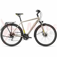 Bicicleta Cube Touring Pro Grey/Green 28