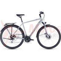 Bicicleta Cube Touring Pro Grey/Orange 2020