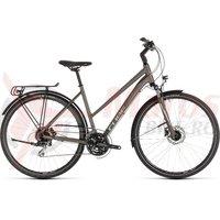 Bicicleta Cube Touring Pro Trapeze Brown/Silver 2019