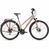 Bicicleta Cube Touring Pro Trapeze Grey/Green 28' 2021