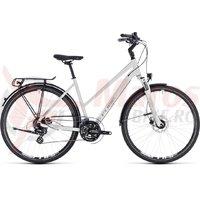 Bicicleta Cube Touring Pro Trapeze white/silver 2018