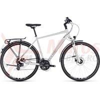 Bicicleta Cube Touring Pro white/silver 2018