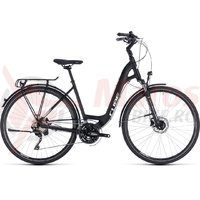 Bicicleta Cube Touring SL Easy Entry black/white 2018